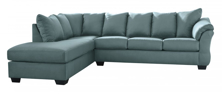 Picture of Darcy Sky 2-Piece Left Arm Facing Sectional
