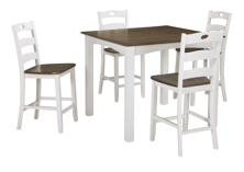 Picture of Woodanville 5-Piece Counter Height Dining Set