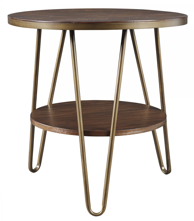 Picture of Lettori Round End Table