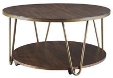 Picture of Lettori Round Cocktail Table