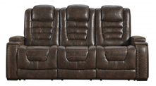 Picture of Game Zone Bark Power Reclining Sofa With Adjustable Headrest
