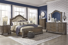 Picture of Charmond 6-Piece Queen Sleigh Bedroom Set