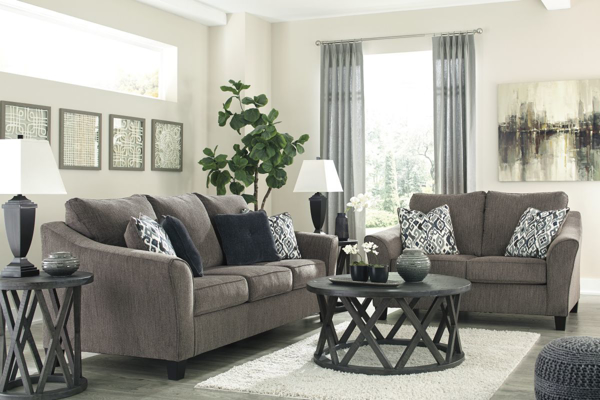 Picture of Nemoli Slate 2-Piece Living Room Set
