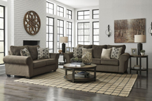 Picture of Nesso Walnut 2-Piece Living Room Set