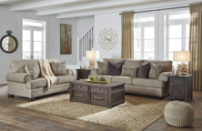 Picture of Kananwood Oatmeal 2-Piece Living Room Set