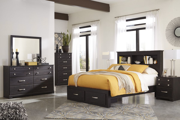 Reylow Queen 6-Piece Storage Bedroom Set