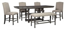 Picture of Audberry 6-Piece Counter Height Dining Set