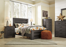 Picture of Brinxton 6-Piece Youth Full Panel Bedroom Set