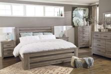 Picture of Zelen 6-Piece King Panel Bedroom Set