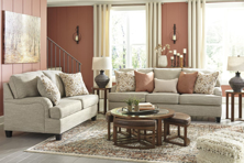 Picture of Almanza Wheat 2-Piece Living Room Set