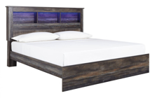 Picture of Drystan King Bookcase Bed