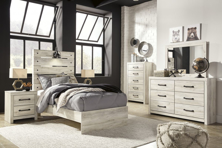 Picture of Cambeck 6-Piece Twin Panel Bedroom Set