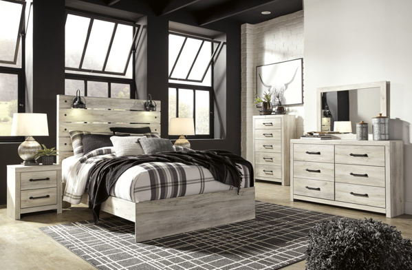 Cambeck 6-Piece Queen Panel Bedroom Set
