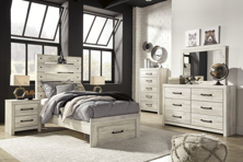 Picture of Cambeck 6-Piece Twin Storage Bedroom Set