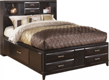 Picture of Kira King Storage Bed