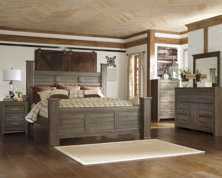 Picture of Juararo 6-Piece King Poster Bedroom Set