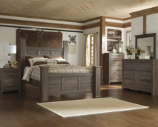 Picture of Juararo 6-Piece Queen Poster Bedroom Set