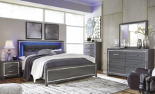 Picture of Lodanna 6-Piece King Panel Bedroom Set