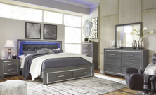 Picture of Lodanna 6-Piece King Storage Bedroom Set