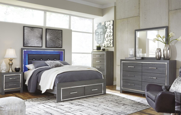 Lodanna 6-Piece Queen Storage Bedroom Set