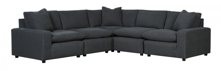 Picture of Savesto Charcoal 5-Piece Sectional