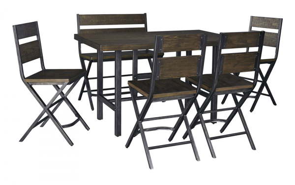 Picture of Kavara 6-Piece Counter Height Dining Set