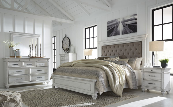 Picture of Kanwyn 6-Piece King Upholstered Bedroom Set