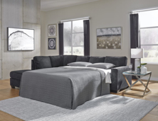 Picture of Altari Slate 2-Piece Left Arm Facing Sleeper Sectional