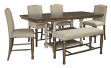 Picture of Lettner 6-Piece Counter Height Dining Set
