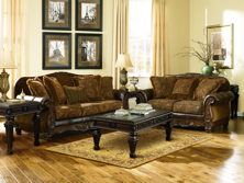 Picture of Fresco Antique 2-Piece Living Room Set