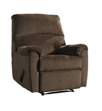 Picture of Nerviano Chocolate Zero Wall Recliner