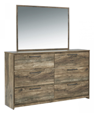 Picture of Rusthaven Dresser & Mirror