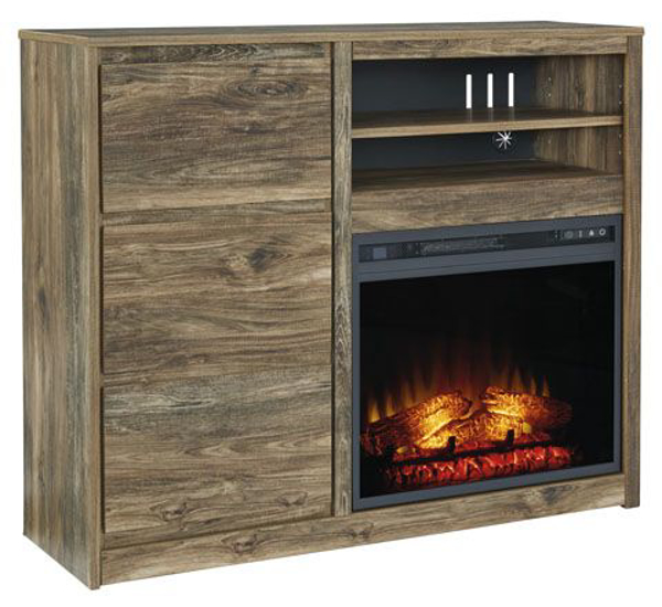 Picture of Rusthaven Media Chest And Fireplace