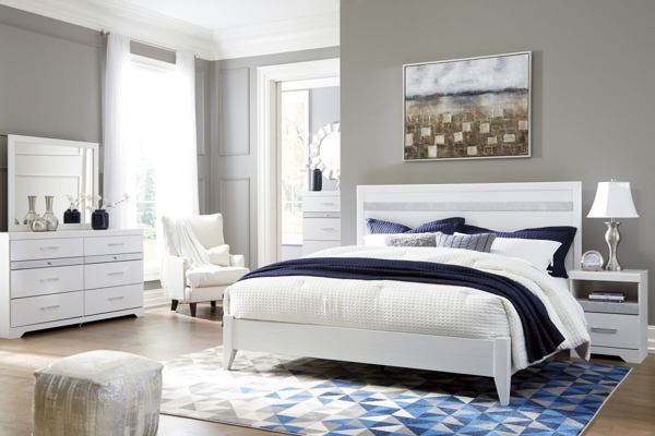 Picture of Jallory 6-Piece King Panel Bedroom Set