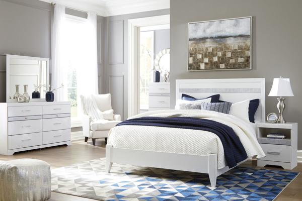 Picture of Jallory 6-Piece Queen Panel Bedroom Set