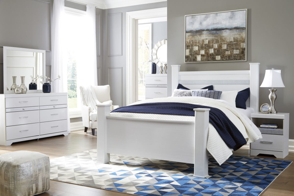 Picture of Jallory 6-Piece Queen Poster Bedroom Set