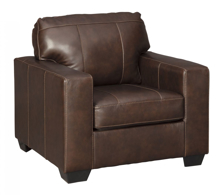Picture of Morelos  Leather Chocolate Chair