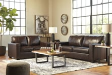 Picture of Morelos Leather Chocolate 2-Piece Living Room Set