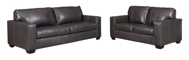 Picture of Morelos Leather Gray 2-Piece Living Room Set