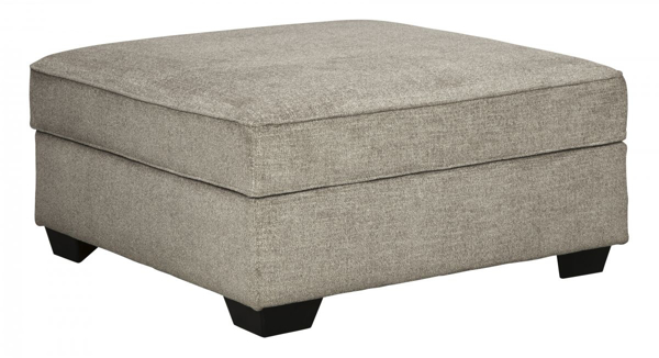 Picture of Bovarian Stone Ottoman With Storage