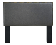 Picture of Chasebrook Gray Queen/Full Upholstered Headboard