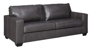 Picture of Morelos Leather Gray Sofa