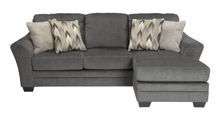 Picture of Braxlin Charcoal Sofa Chaise