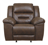 Picture of Stoneland Chocolate Power Rocker Recliner