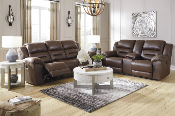 Picture of Stoneland Chocolate 2-Piece Living Room Set