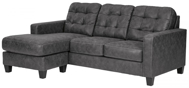 Picture of Venaldi Gunmetal Sofa Chaise