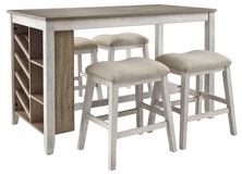 Picture of Skempton 5-Piece Counter Height Dining Set