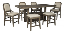 Picture of Wyndahl 7-Piece Counter Dining Room Set