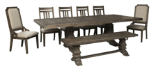 Picture of Wyndahl 8-Piece Dining Room Set