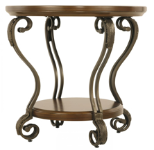 Picture of Nestor Round End Table